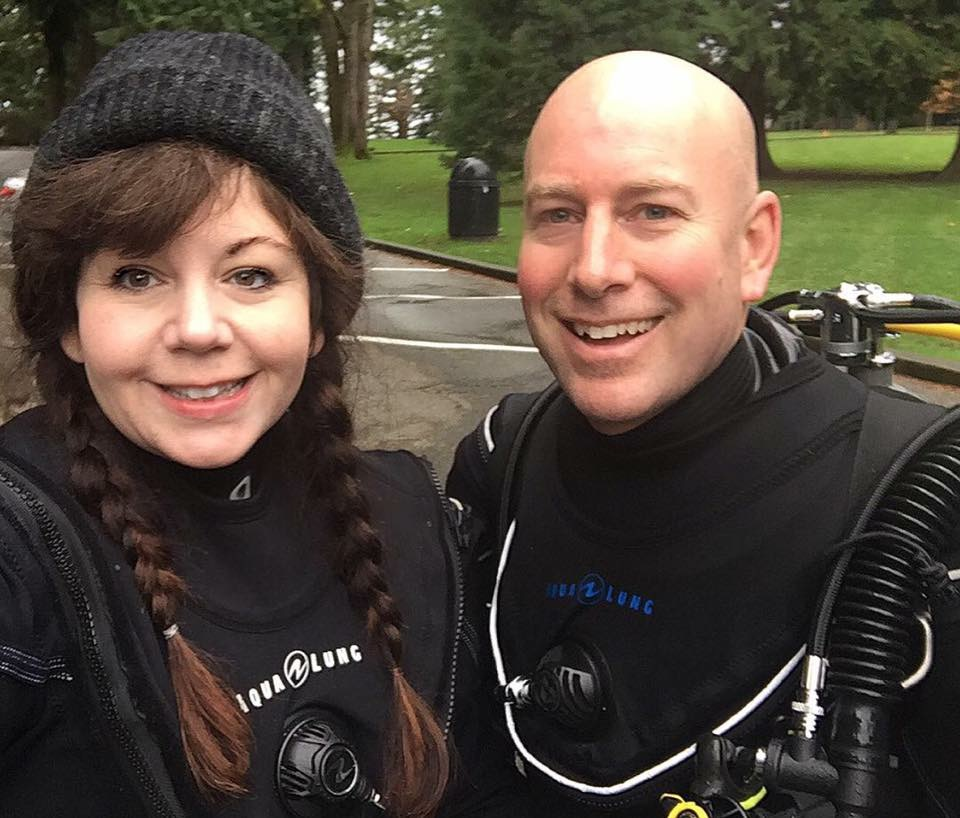 vancouver dive shop | Learn to scuba dive! | Greg and Deirdre Ocean Quest Dive Centre Vancouver BC Canada
