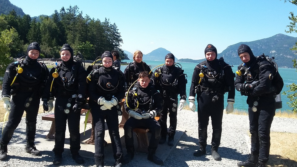 kids youth summer scuba camp vancouver buranby