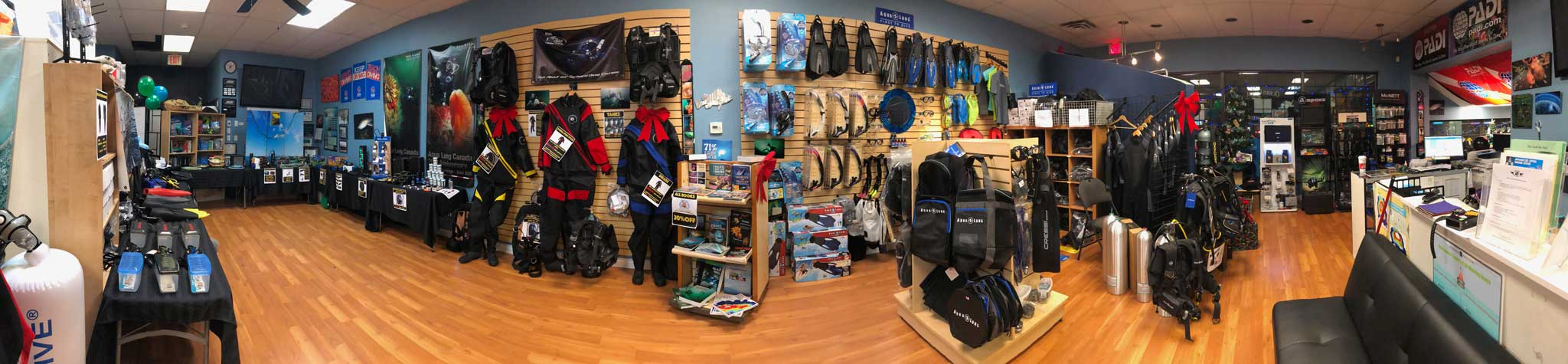 scuba equipment sales online canada